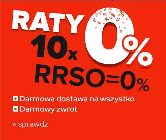Raty 10x0% MWZ 250 zł @emag.pl