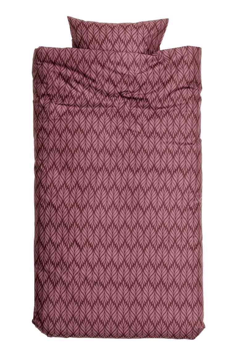 Bawełniana pościel za 47,90zł (różne wzory i rozmiary) @ H&M