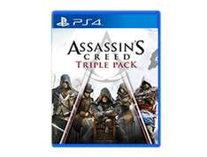 Assassin's Creed Triple Pack (Black Flag, Unity, Syndicate) PS4 [Playstation Store]