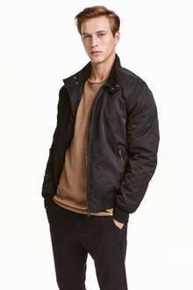 Męska kurtka za 65,16zł + dostawa gratis @ H&M