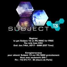 Subject 13 - gra steam za darmo