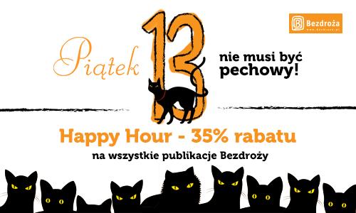 Happy Hours - 35% rabatu na publikacje Wydawnictwa Bezdroża
