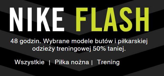 [Flash Sale]  50% rabatu na wybrane buty oraz odzież piłkarską @ Nike