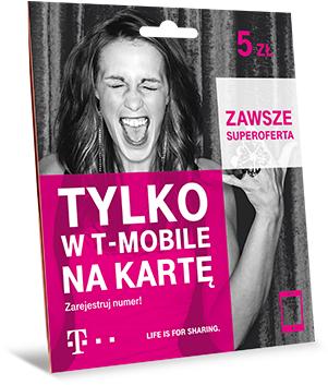 T-Mobile: Oferta no limit na rozmowy i sms plus 10GB Interneu
