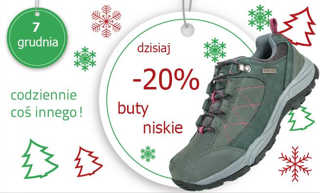20% rabatu na niskie buty @ HiMountain