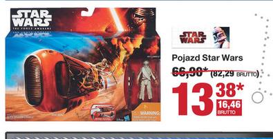 Pojazd Star Wars: pojazd Deluxe + figura Rey Jakku za 16,46zł ( przecena z 67zł) @ Makro