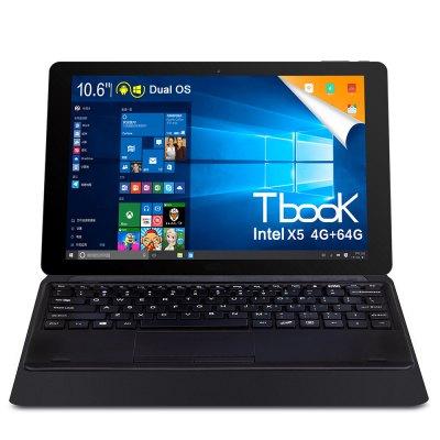 """Teclast Tbook 11: 10,6"""" FHD, Intel Z8300 4x 1,44GHz, 4GB RAM, 64GB ROM, 7500mAh, Android 5.1 + Win 10 @Gearbest"""