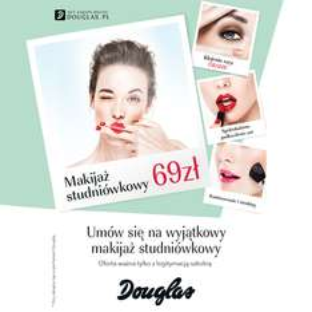 Makijaż studniówkowy za 69zł @ Douglas