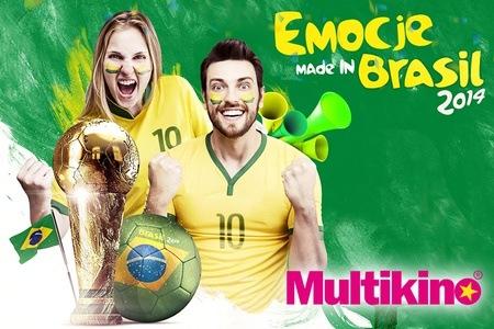 13,90zł zamiast 26zł za Mecze Mundialu na dużym ekranie (Multikino)! @ Groupon