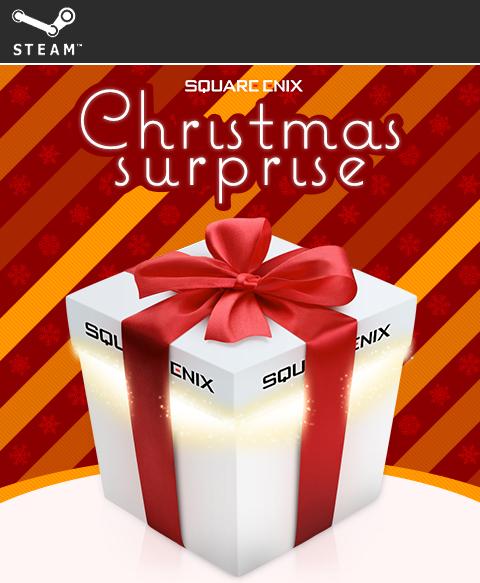 Aktualizacja! Świąteczna skrzynka (6 kluczy Steam) za 27zł @ Square Enix