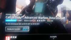Call of Duty Advanced Warfare Złota Edycja PS4 -70%