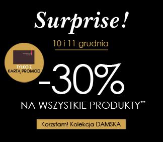 -30% na wszystko dla wszystkich posiadaczy karty Promod @ Promod