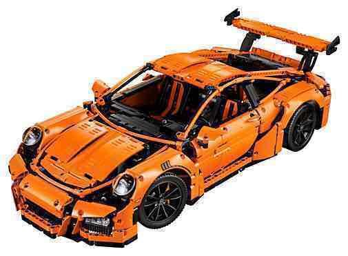LEGO Technic Porsche 911 Gt3 Rs 42056, cena ok 936 PLN @amazon.co.uk