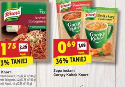 Zupa Instant Gorący kubek Knorr 0,69gr.