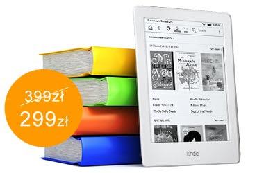 Kindle Touch 8 299 zł,  Paperwhite 3 529 zł @ Sferis