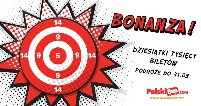 PolskiBus z Poznania do Gdańska za 9 zł od pn-czw