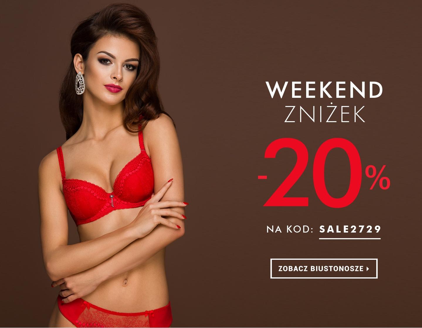 Prezent na Walentynki - Weekend Zniżek -20% w sklepie Intymna.pl