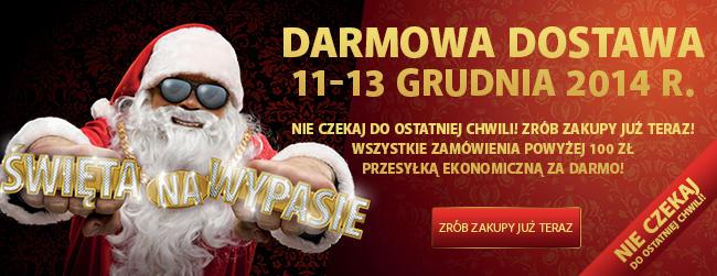 Darmowa dostawa przy zamówieniach za minimum 100zł tylko 11-13 grudnia @ Komputronik