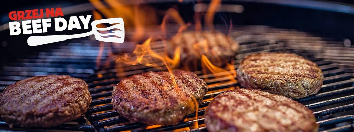 Grzej na Beef Day w Burger King w Krakowie