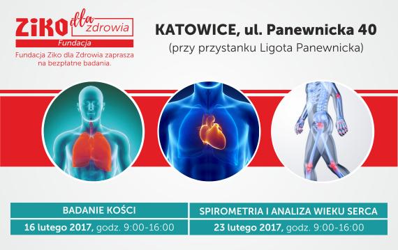 Bezpłatne badania profilaktyczne (Katowice) @ Apteka Ziko