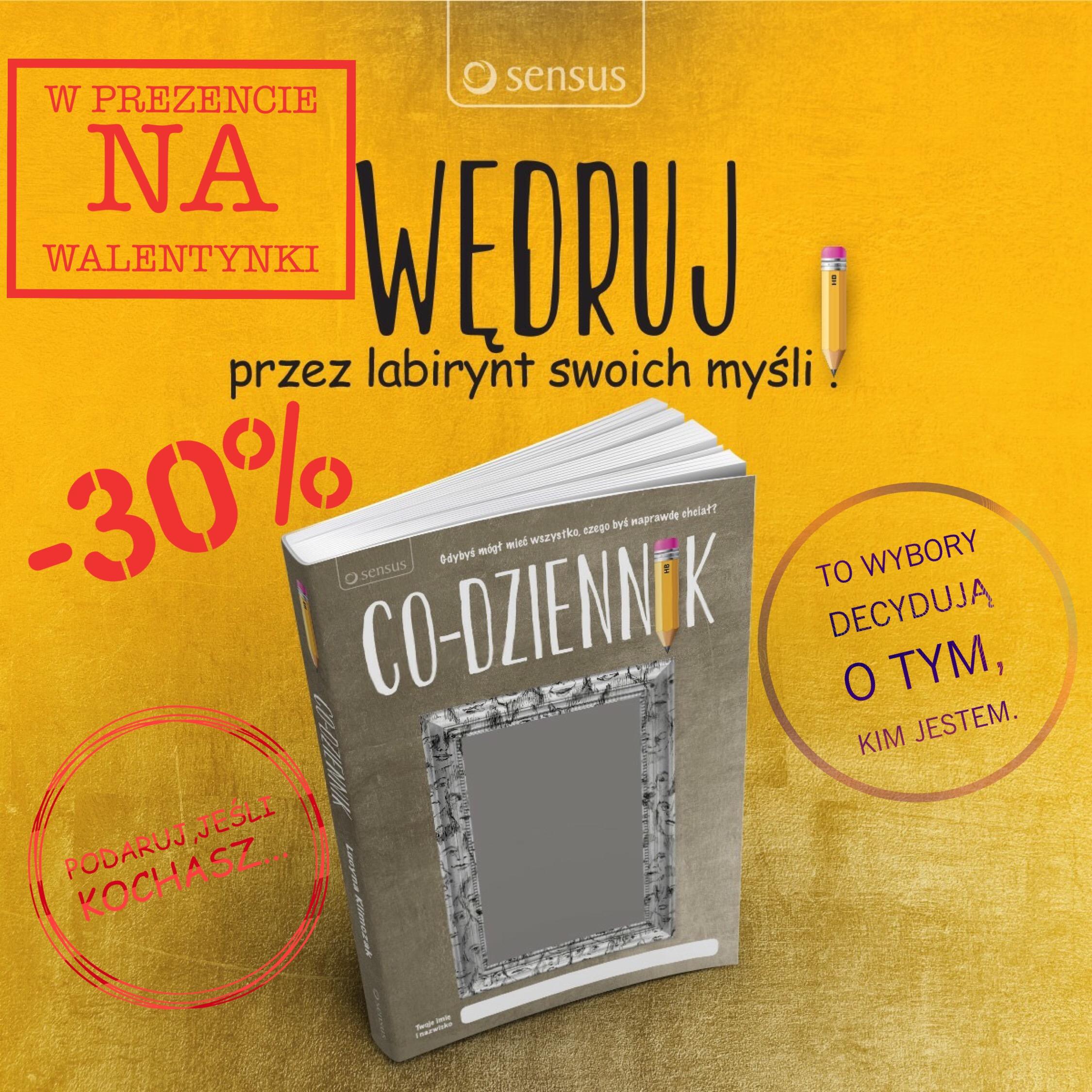 """Co-dziennik"" na Walentynki @ Sensus"