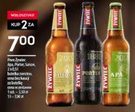 2 butelki piwa Żywiec: Apa, Saison, Portel za 7zł @ Żabka
