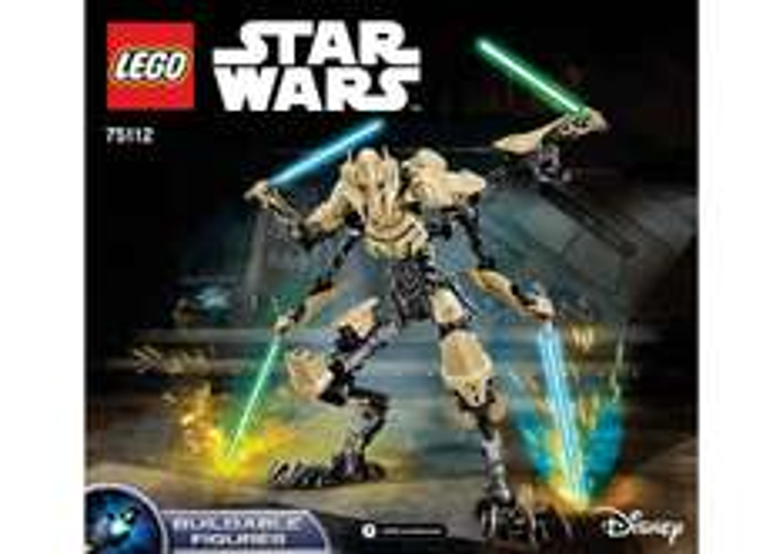 LEGO General Grievous 75112 STAR WARS