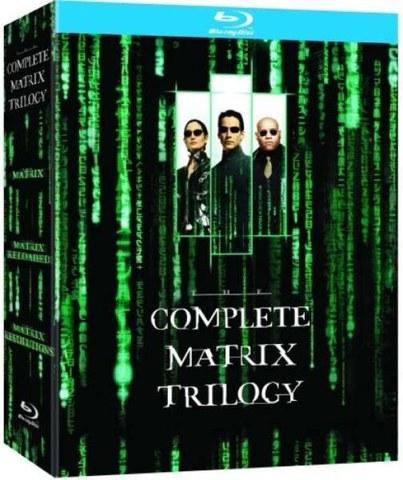 Trylogia Matrix na Blu-ray za ok. 43zł @ Zavvi