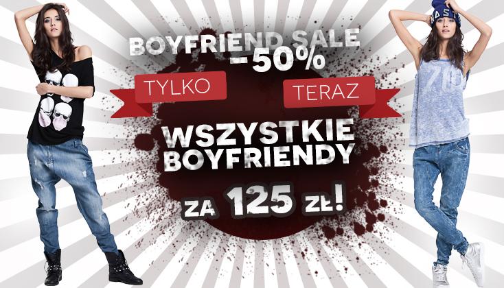 Oryginalne, dżinsowe boyfriendy -50% @ Denimbox