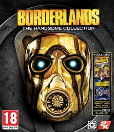 Borderlands The Handsome collection PL/CZ/HU PS4/Xbox one