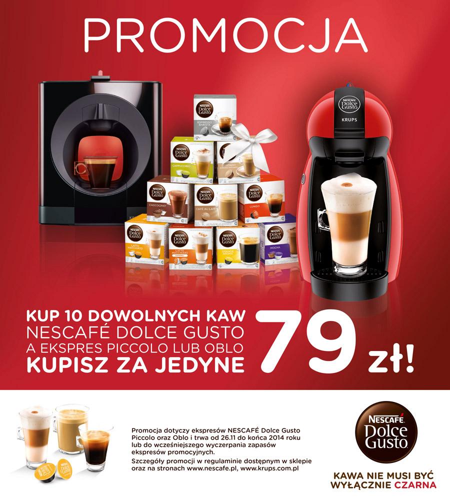 Przy zakupie 10 kaw express za 79 zł @ carrefour