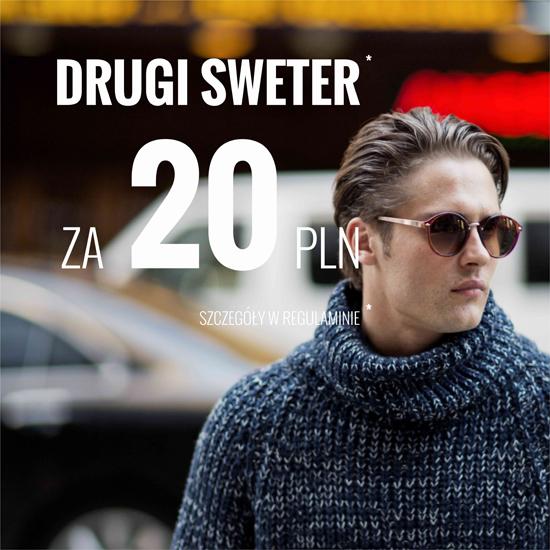 Drugi sweter za 20zł dot. kolekcji swetrów męskich @ House