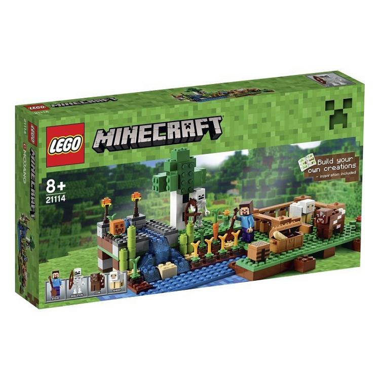 LEGO Minecraft 21114 - Farma - Smyk