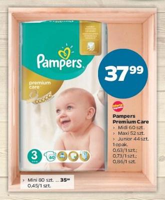 Pieluszki Pampers Premium Care od 35,99zł @ Netto