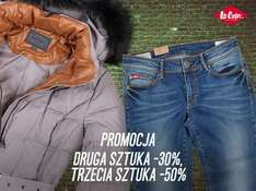 Do 50% rabatu na zakupy @ Lee Cooper