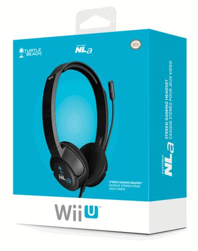 Zestaw słuchawkowy Turtle Beach Ear Force NLA Headset do Nintendo Wii U za 54zł @ Game