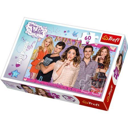Puzzle Violetta 60el za 2,66zł+ darmowa dostawa