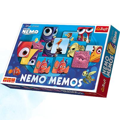 Gra Memos Nemo TREFL za 7,56zł @ Taniaksiazka.pl