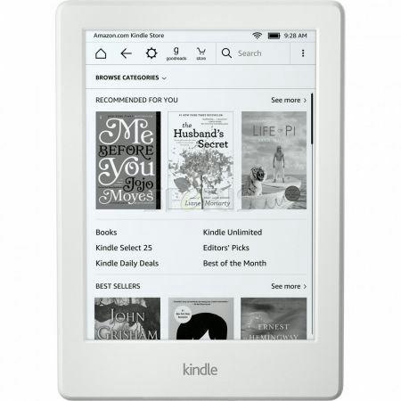 Emag. Czytnik ebook Kindle 8 z reklamami (2016) biały