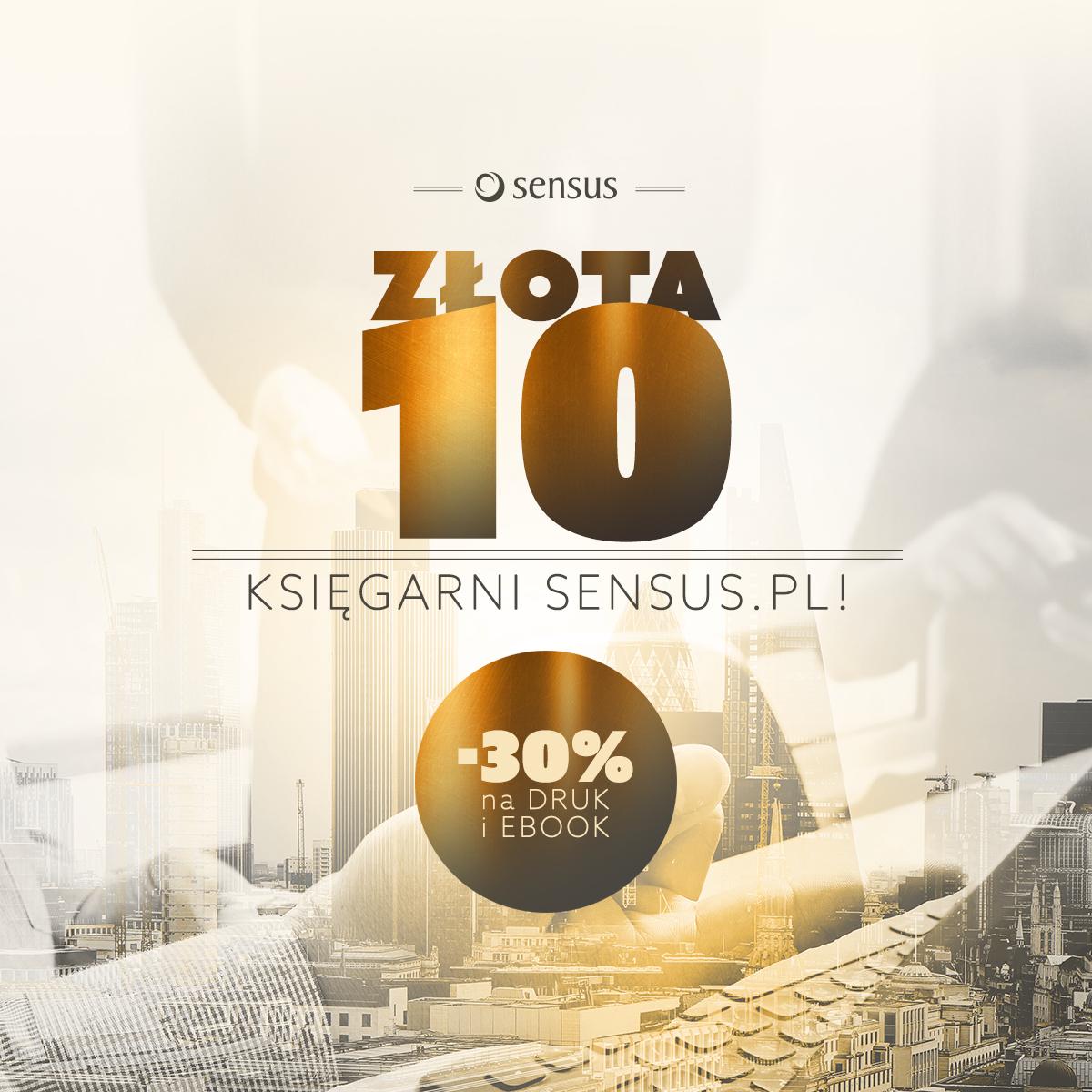 Top 10 bestsellerów 30% taniej @ Sensus