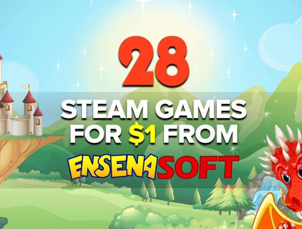 Bundle. 28 gierek na Steam