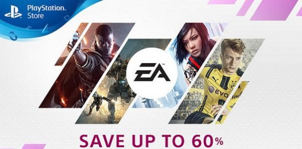 Gry EA do 60% taniej w PS Store