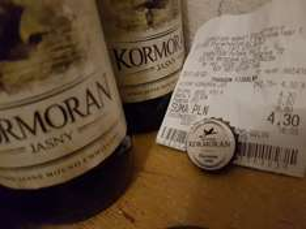 Kormoran jasny z browaru Kormoran - piwo jasne, pasteryzowane 2.15zł @ Carrefour (Starachowice)