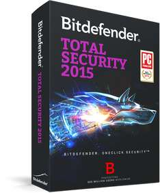 Bitdefender Total Security 2015 za DARMO na 1 rok @ sharewareonsale.com