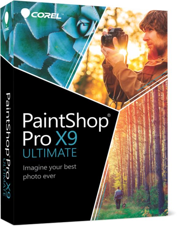 (BŁĄD!) PaintShop Pro X9 Ultimate 340zł taniej (59zł zamiast 399zł) @ Corel