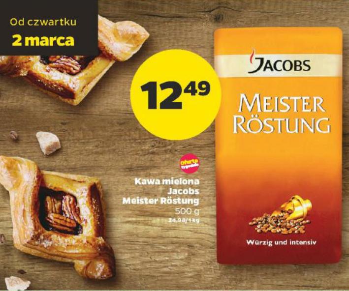 Jacobs Meister Rostung kawa mielona 500 g@Netto