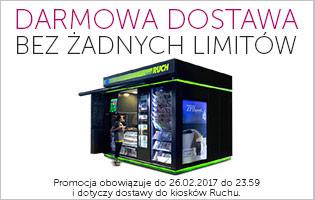 Darmowa dostawa do kiosku Ruchu bez limitów @ Ravelo