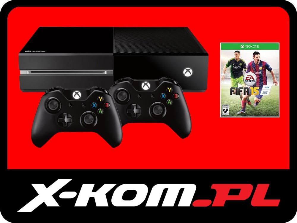 Microsoft Xbox One 500GB + 2 PADY + FIFA 15 za 1749zł @ Allegro