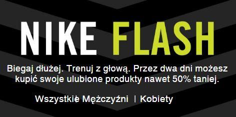 [Flash Sale do -50%] Wybrane modele butów oraz odzieży sportowej @ Nike