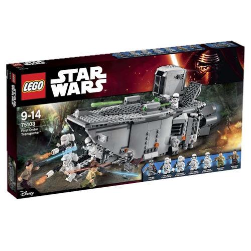 "LEGO Star Wars 75103 - First Order Transporter - Taniej o 40% - Toys ""R"" Us Polska"